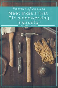 Looking to learn #woodworking in India? Your search ends here! Meet India's first DIY woodworking instructor, Abid Ali. #woodworkingindia
