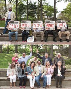 Cute Marriage Proposal Ideas With Surprise Parties! l TheKnot.com