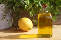 Ginger and lemon for an special flavor to your Olive Oils. Discover the way of #DIY #OliveOil