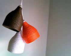 Como hacer una Lámpara de cuerda