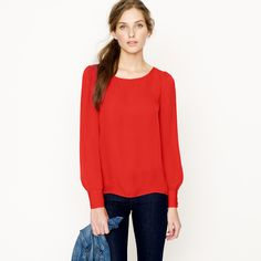 Talitha blouse : tops & blouses | J.Crew