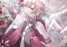 Cool Anime Guys, Cute Anime Boy, Cute Anime Couples, Anime Love, Manga Anime, Yandere Anime, Anime Angel Girl, Anime Art Girl, Animes Emo