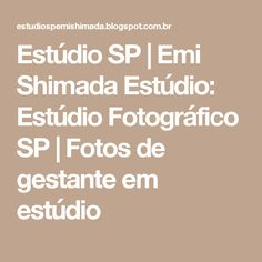 Estúdio SP   Emi Shimada Estúdio: Estúdio Fotográfico SP   Fotos de gestante em estúdio