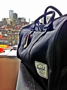 Herschel Novel Canvas. Would love this to be my gym bag