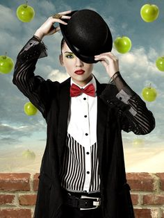 Selected Fashion Editorials by Sum-Sum Tse, via Behance
