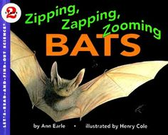 Zipping, Zapping, Zooming Bats book.