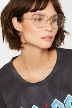 3934bcc6691 Gucci - Round-frame gold-tone optical glasses