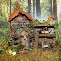 Woodland Fairy Village  http://woodlandfairyvillage.com