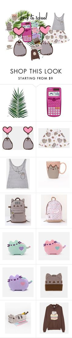 """#PVxPusheen"" by winolamegan on Polyvore featuring interior, interiors, interior design, home, home decor, interior decorating, Nika, Casio, Pusheen and contestentry"
