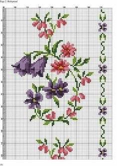 This Pin was discovered by Hül Cross Stitch Bookmarks, Cross Stitch Borders, Cross Stitch Rose, Cross Stitch Flowers, Cross Stitch Designs, Cross Stitching, Cross Stitch Embroidery, Embroidery Patterns, Cross Stitch Patterns