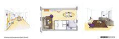 Interieurontwerp en realisatie voor een woonhuis in Utrecht. De kast hebben wij speciaal voor hen ontworpen en op maat gemaakt.  © Combo Design St. Jacobsstraat 12, 3511 BS Utrecht www.combodesign.nl www.facebook.com/combodesign