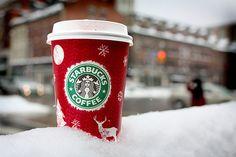 Winter cofee #starbucks