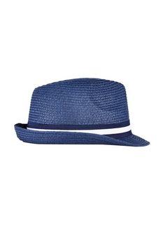8439bfb317ac4 Womens   Burton Navy Trilby Hat- Blue