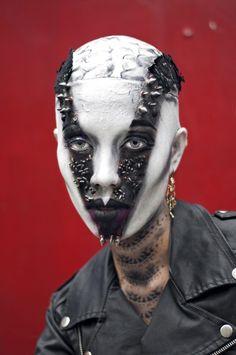 Avant-Garde Makeup 2014 | ... Borja by Enzo Mondejar & Jelly Eugenio in Avant Garde Makeup Challenge