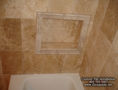 travertine tile shower | Click on picture to enlarge it