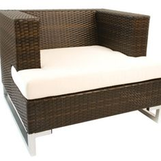 Manhattan Single Sofa with Cushion