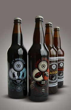 Aspen Brewing Company label designs by Jeremy Elder