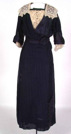 Edwardian-Easter-World Book Day-Girls VICTORIAN DELUXE POLLYANNA STRIPED DRESS