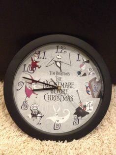 Tim Burton's the Nightmare Before Christmas Wall Clock~ I have this! I need to change out the battery
