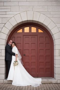 One of our brides, Louise, sent in these beautifully romantic pictures! She looks so elegant in her Augusta Jones Bridal gown styled by our very own Khrystyna K!  Congrats on your big day Louise! We wish you and your husband the best! :)
