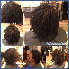 Style: Loc Retight/Loc Maintenance (Palm-rolled, twisted)  Client's Hair Type: 3c/4a  Hair Added: NA  Products Used: Coiled! by Conscious Coils (Original Refresher Spray and Loc & Styling Gel)   Time: 2hrs  Style Duration: Retight every 4-5weeks     #consciouscoils #consciouscoilssalon #coiledbyconsciouscoils