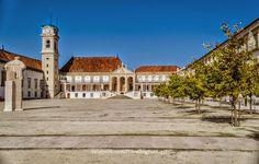 Paço das Escolas Universidad de Coimbra   Portugal Turismo