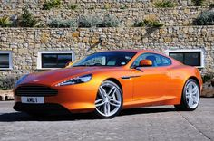 Perhaps the sexiest car on the planet: the Aston Martin Virage.