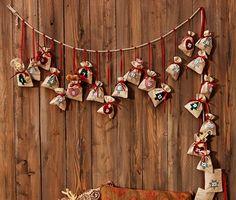 399 Kč 24 překvapení, která Vám zkrátí čekání na Vánoce! Tento náročně zrobený adventní kalendář s 24 sáčky pro naplnění podle vlastní fantazie provede děti adventním časem až ke Štědrému dni. Christmas Tree Advent Calendar, Projects To Try, Crafts, Jewelry, Craft Ideas, Band, Xmas, Christmas Eve, Christmas
