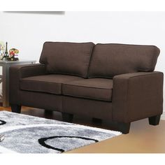 PDAE Inc. Camille Living Room Loveseat