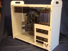 PC case using CNC router and home building products