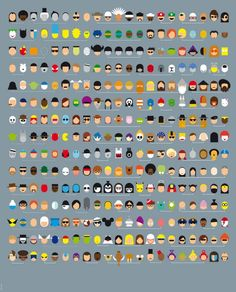 315 Faces, do you know them all?