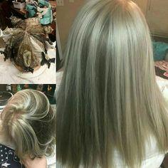 Pinwheel hair