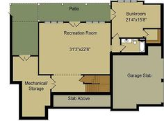 Craftsman Escape With Bunk Room - 92366MX   1st Floor Master Suite, Bonus Room, Butler Walk-in Pantry, CAD Available, Corner Lot, Craftsman, Exclusive, Media-Game-Home Theater, Mountain, PDF, Photo Gallery, Sloping Lot, Split Bedrooms, Vacation   Architectural Designs