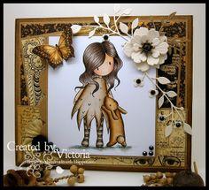 Vixx Handmade Cards: MY CRAFTY HEART DT POST ~ GORJUSS..
