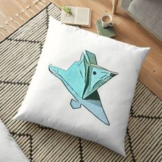 Floor Pillows, Throw Pillows, Origami Mouse, Making Out, Cushions, Art Prints, Cool Stuff, Printed, Awesome