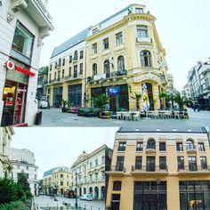 Clădirea de pe Lipscani 26, pe lângă Banca Națională, a fost construită în 1884, și a aparținut familiei de bancheri Halfon.  Cele mai importante nume care definesc  domeniul bancar românesc își fac apariția în spațiul public românesc la începutul secolului al XIX-lea, iar unul dintre aceștia a fost Solomon Halfon, care alături de frații Elias, Manoach sau Marmorosch, aveau să creeze sistemul bancar privat românesc.   Puțini știu că Solomon Halfon a fost fondatorul Băncii Comerciale Române. Beautiful Stories, Bucharest, Street View, Mansions, House Styles, Amazing, Vintage, Home Decor, Houses
