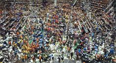 """Andreas Gursky """"Chicago Board of Trade III"""". $3,298,755"""