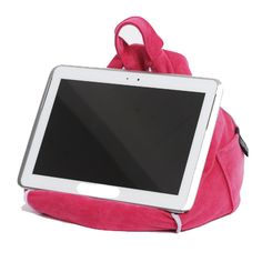 iBeani iPad / Tablet Computer Bean Bag - Cool Pink - Works great with all tablet devices including iPad, Samsung, Lenovo, Kindle etc etc