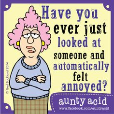 Replace a word in a BOOK TITLE with the word AUNTY-ACID and comment your results below