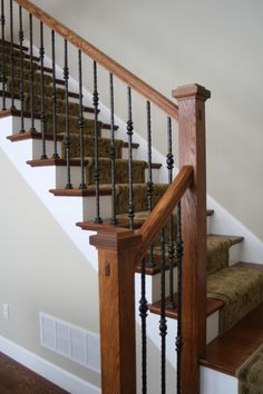 Santa Fe Series Square Edge Hammered Single Sphere Baluster (16.1.26) and Double Sphere Balusters (16.1.27) -- These parts available at Ironwood Connection!