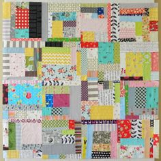 Love this scrap quilt top. <3 s.o.t.a.k handmade: scraps to treasure