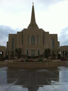 Gilbert Arizona Temple This is our Temple.