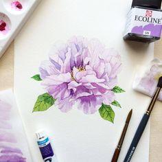 Silk Painting, Watercolour Painting, Watercolours, Watercolor Cards, Watercolor Flowers, Pattern Texture, Fantastic Art, Art Drawings, Drawing Art