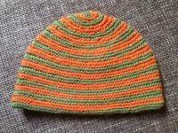 Colored spirals in Mammen stitch