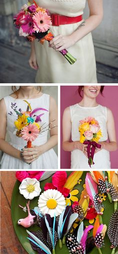 Vibrant bouquets that scream HAPPINESS