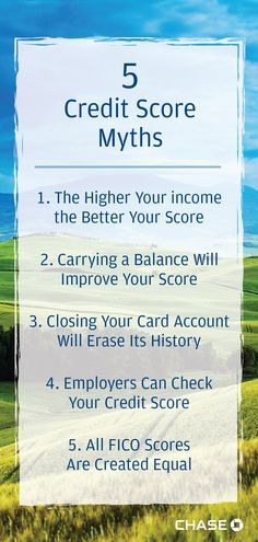 How well do you understand credit scores? We debunked 5 common myths so you can learn how credit health is measured.