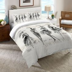 Shop for Laural Home Fashion Divas Comforter. Get free shipping at Overstock.com - Your Online Fashion Bedding Outlet Store! Get 5% in rewards with Club O! - 18527891