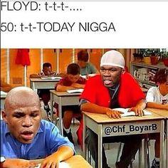 50¢ vs Floyd Mayweather beef