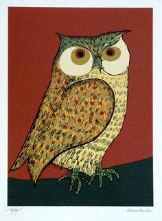 Goruja - Aldemir Martins (fundação) -  Tamanho 50 x 35 cm -  Serigrafia