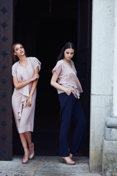 NEW YORK Dress, NEW YORK Blouse & MOSCOW Trousers